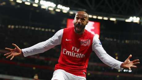 Thierry Henry scored 226 goals in 369 appearances for Arsenal.