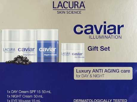 ALDI Australia is selling a luxury skin care gift set. Picture: Supplied