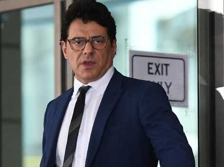 Colosimo received a firm talking to in court today. Picture: Julian Smith