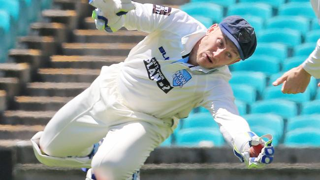 Peter Nevill is firming as the favourite to take the gloves in the first Ashes Test. Picture: Mark Evans