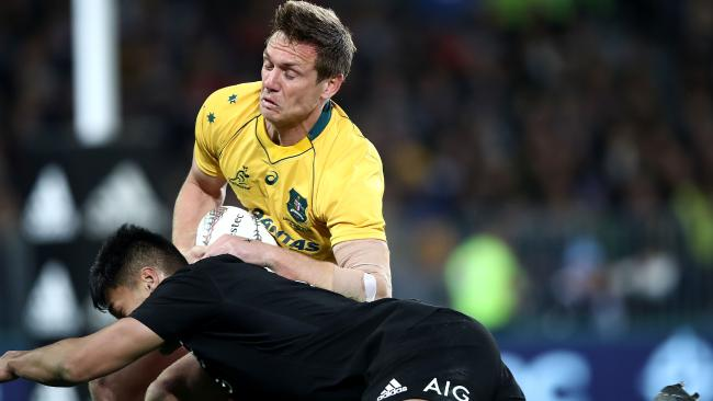 Wallabies fullback Dane Haylett-Petty has joined the Melbourne Rebels. Picture: Getty Images