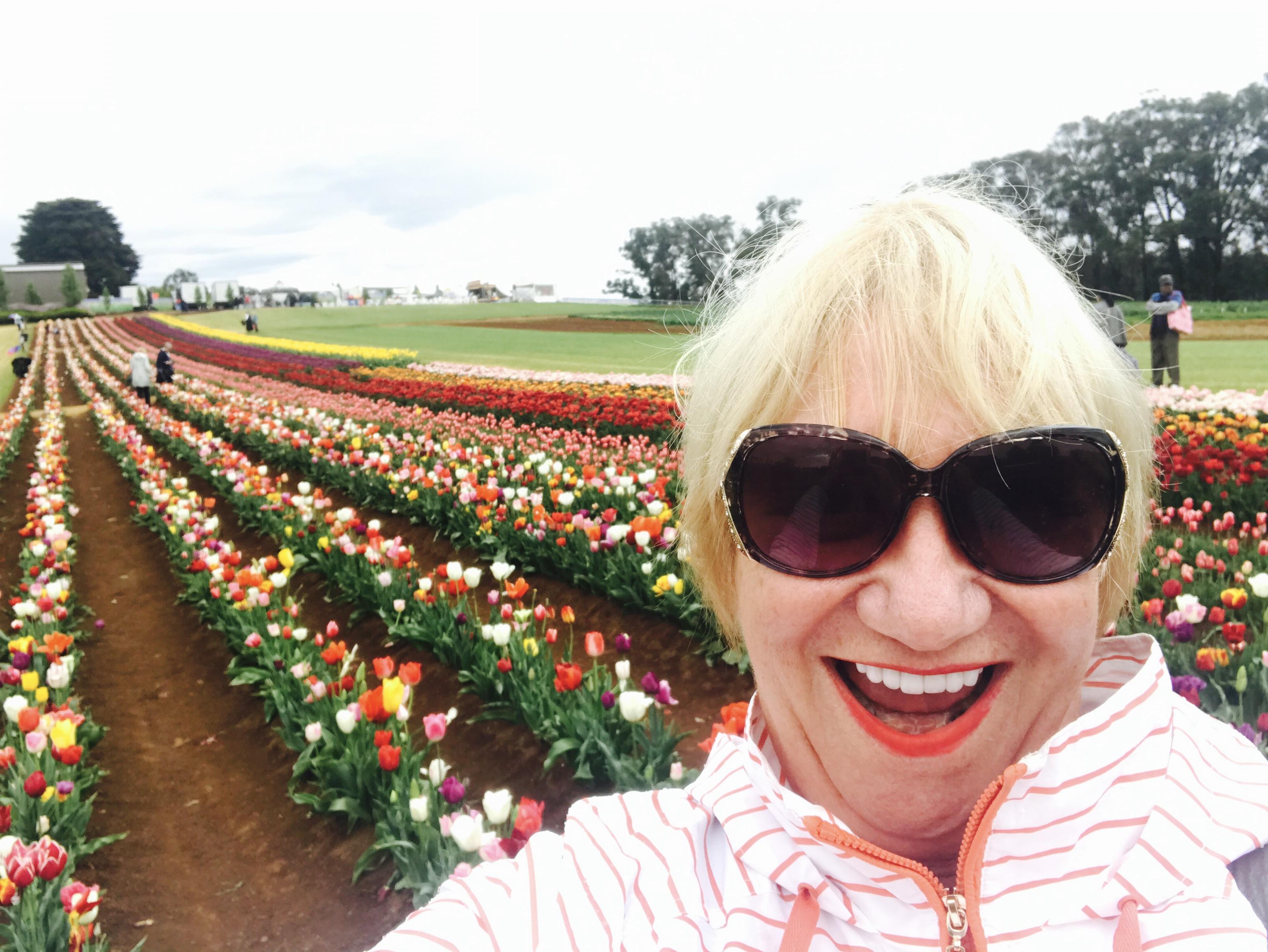 Writer Ann Rickard re-visited some fond memories at the Tesselaar Tulip Farm.