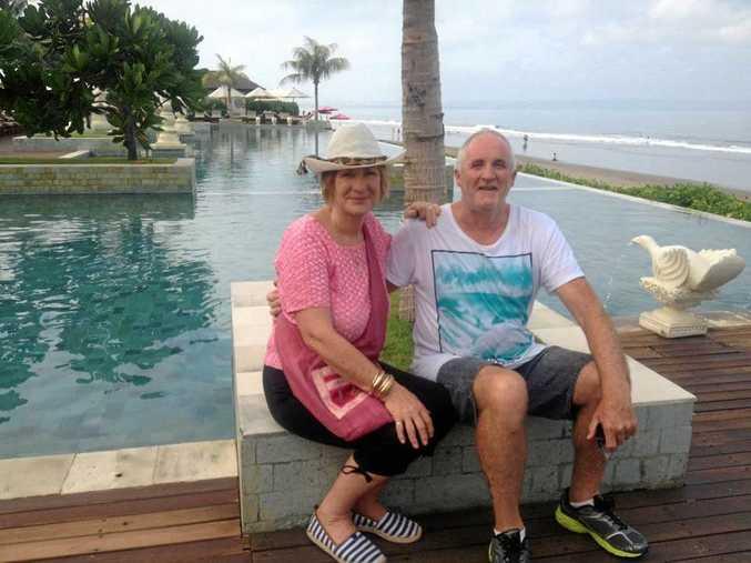 FOND MEMORIES: Denise and Gary Chapman.