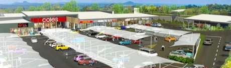 VISION: Artist's impressions of the Coles shopping centre at Jones Rd, Buderim.