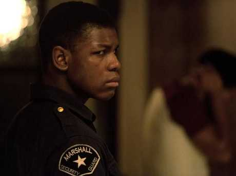 John Boyega in a scene from Detroit. Picture: Supplied