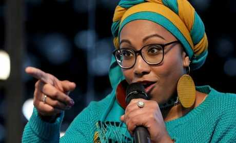 The Sudanese-Australian activist and author Yassmin Abdel-Magied has slammed the government's treatment of those on Manus Island. Picture: Chris Pavlich for The Australian