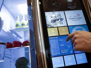 Samsung's smart fridge