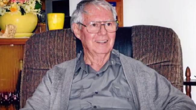 Robert Whitwell died as his granddaughter Brittney Dwyer did the dishes.
