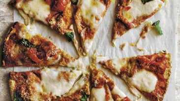 Slice of life ... Donna Hay Basics to Brilliance Kids cheat's pizza.