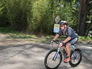 Noosa Triathlon action