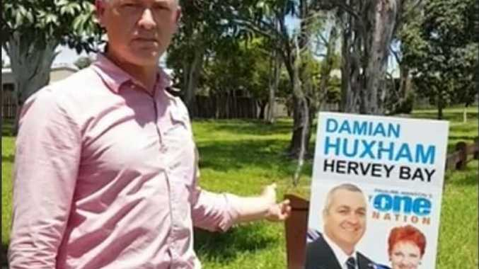 VIDEO CAMPAIGN: Labor candidate for Hervey Bay Adrian Tantari talks about One Nation candidate Damian Huxham on video.