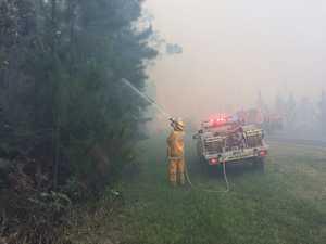 Beerwah bushfire