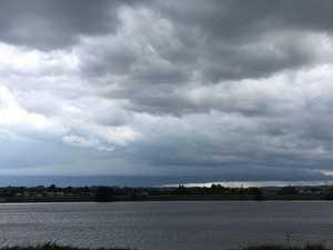 Storm approaching Grafton