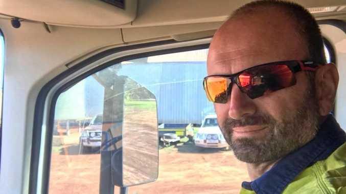Mackay truck driver Gus Sacco.