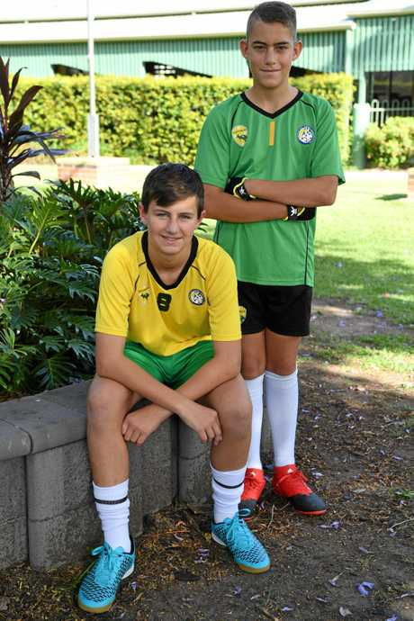 Drew Gordon and Aidan Steffan went over to the United Kingdom to play futsal.