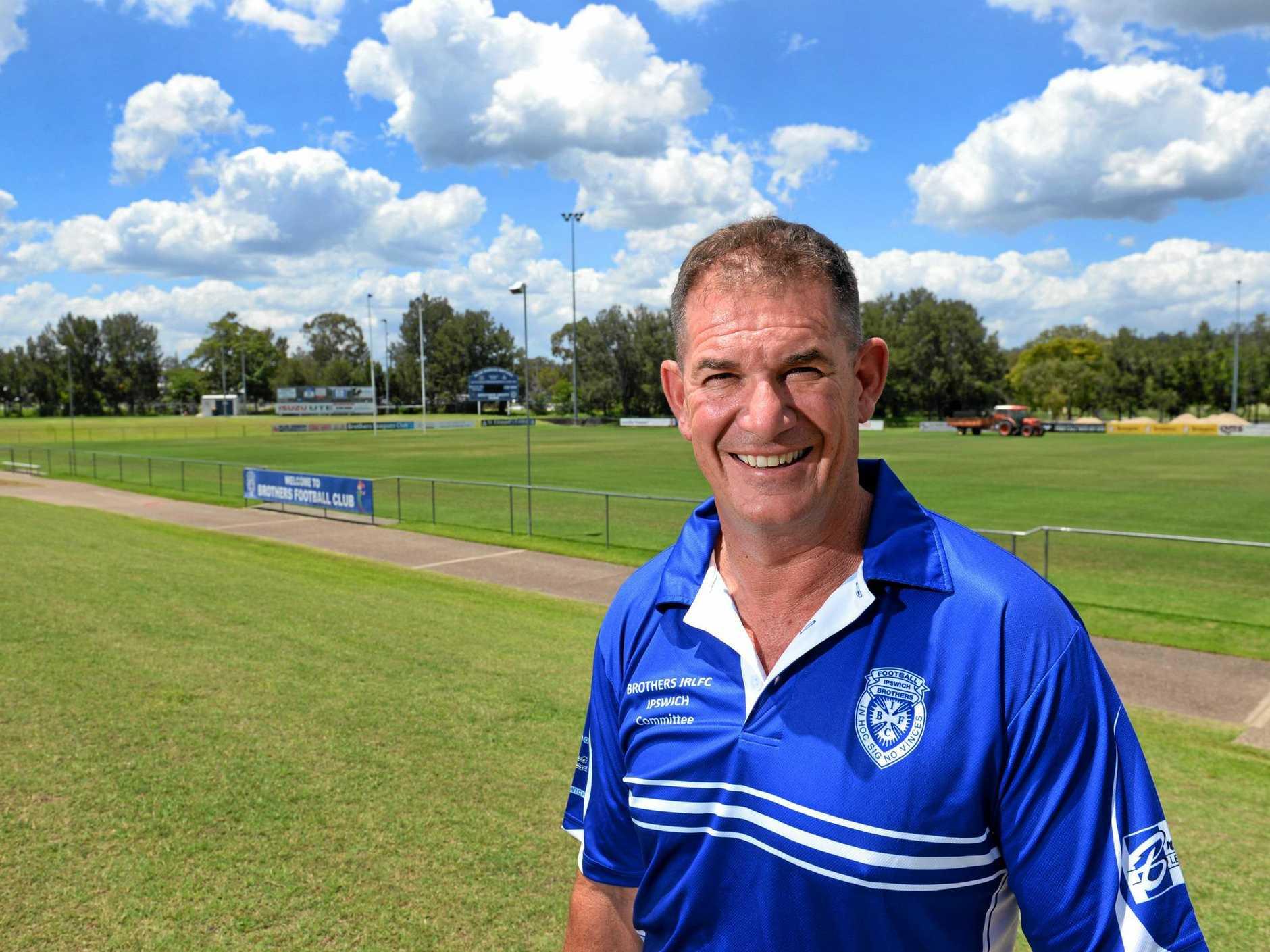 VALUABLE WORK: City of Ipswich Sports awards Volunteer of the Year winner Dane McQueen.