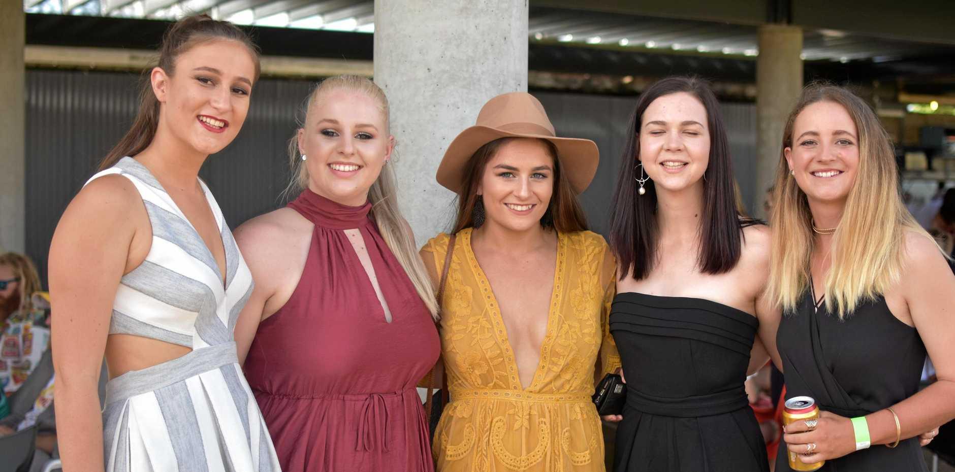Elise Matherson, Brooke Clarke, Brynie Zeller, Claire Gordon and Karen Ussher.