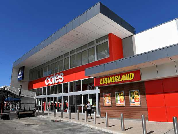 INJURED: A store manager, 50, was injured trying to stop the men leaving Coles Kensington.