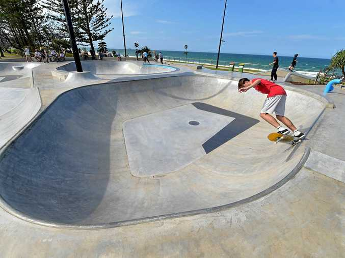 The new Alex Skate Park opened for business in October and is attracting big crowds.