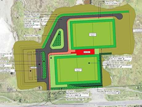 Project site for construction of stages 2, 3 and 4 of the Hartley Street Sport and Recreation Reserve