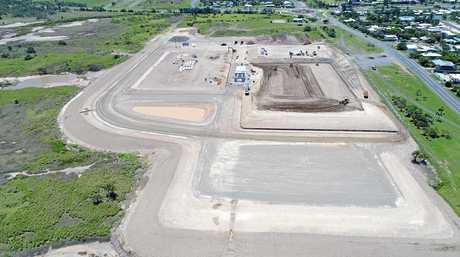 Aerial view of Hartley Street Sport and Recreation Precinct in Emu Park