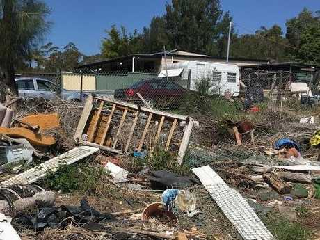 """West Wyee has been dubbed a """"shanty town"""" by some. Picture: Benedict Brook"""