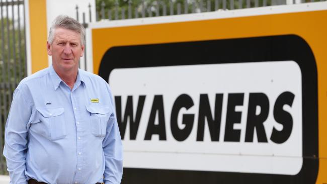 Wagners managing director Denis Wagner. Picture: Peter Wallis