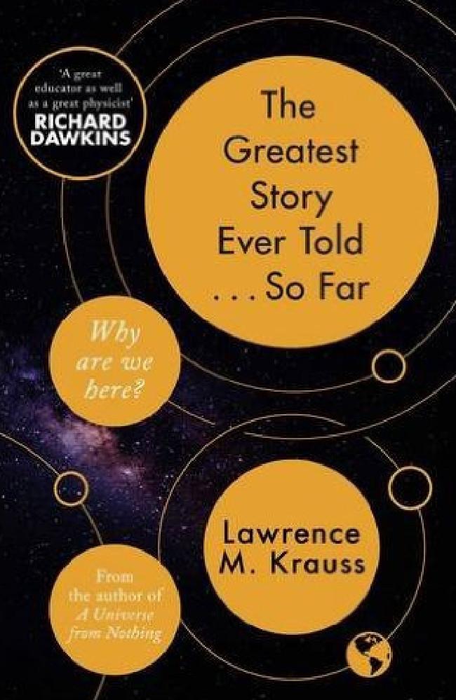 Prof Krauss' latest book has received wide praise by critics.