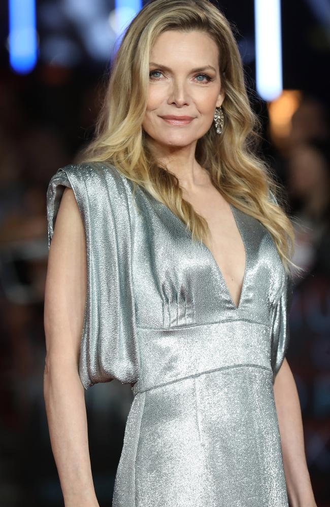 Pfeiffer looked hotter than ever at 59 at the premiere of her new film. Picture: Tim P. Whitby / Getty Images.