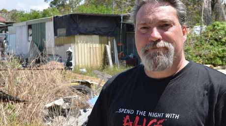 Jason Pauls has lived in West Wyee for four years. Picture: Benedict Brook