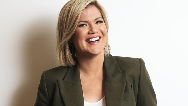 Channel Ten presenter Sarah Harris. Picture: Dylan Robinson