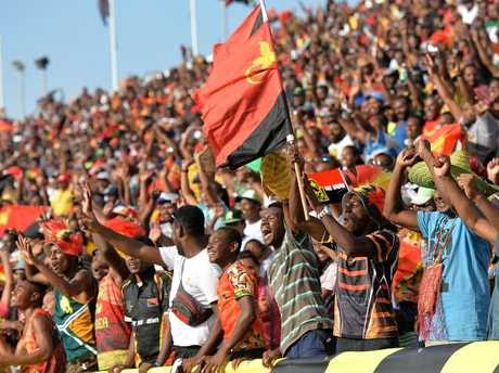 The game was a sellout in Port Moresby.
