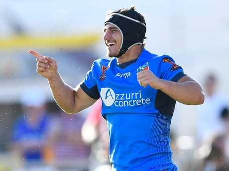 The Bulldogs and Italy have a talent in hooker Joseph Tramontana.