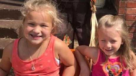KayLee Danielle, left, and Kenlie, right, were killed by mum Sarah Nicole Henderson. Picture: Facebook
