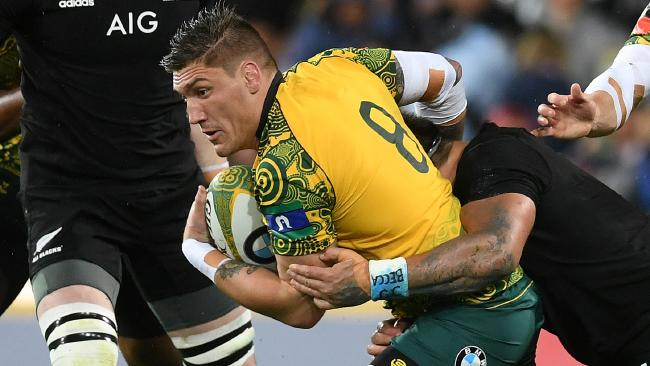 Sean McMahon has been one of the Wallabies best.