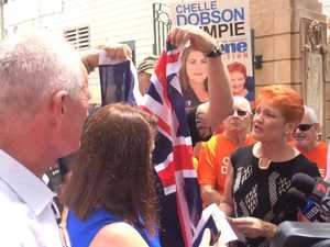 Surprise Gympie visit from Pauline Hanson