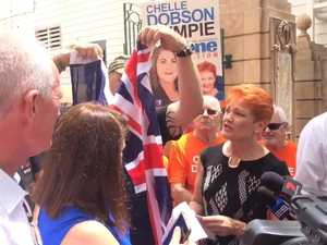 Surprise Gympie visit from Pauline Hanson