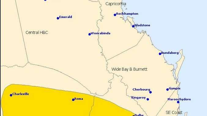 Severe thunderstorm warning November 6.
