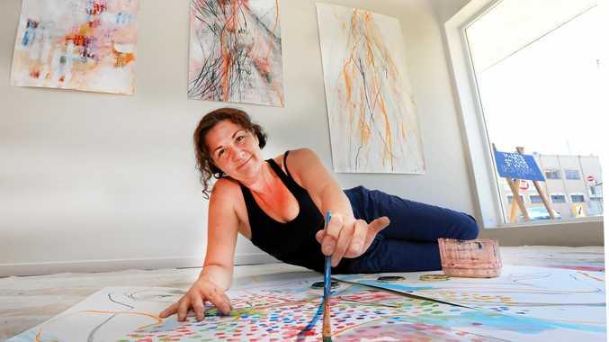 BRIGHT IDEA: Murwillumbah artist Arna Baartz is bringing the new M-Arts concept to life.