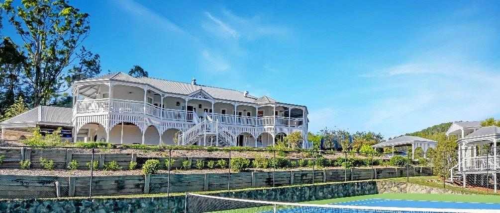 NICE DIGS: Eumundi Farmhouse wins business of the year.