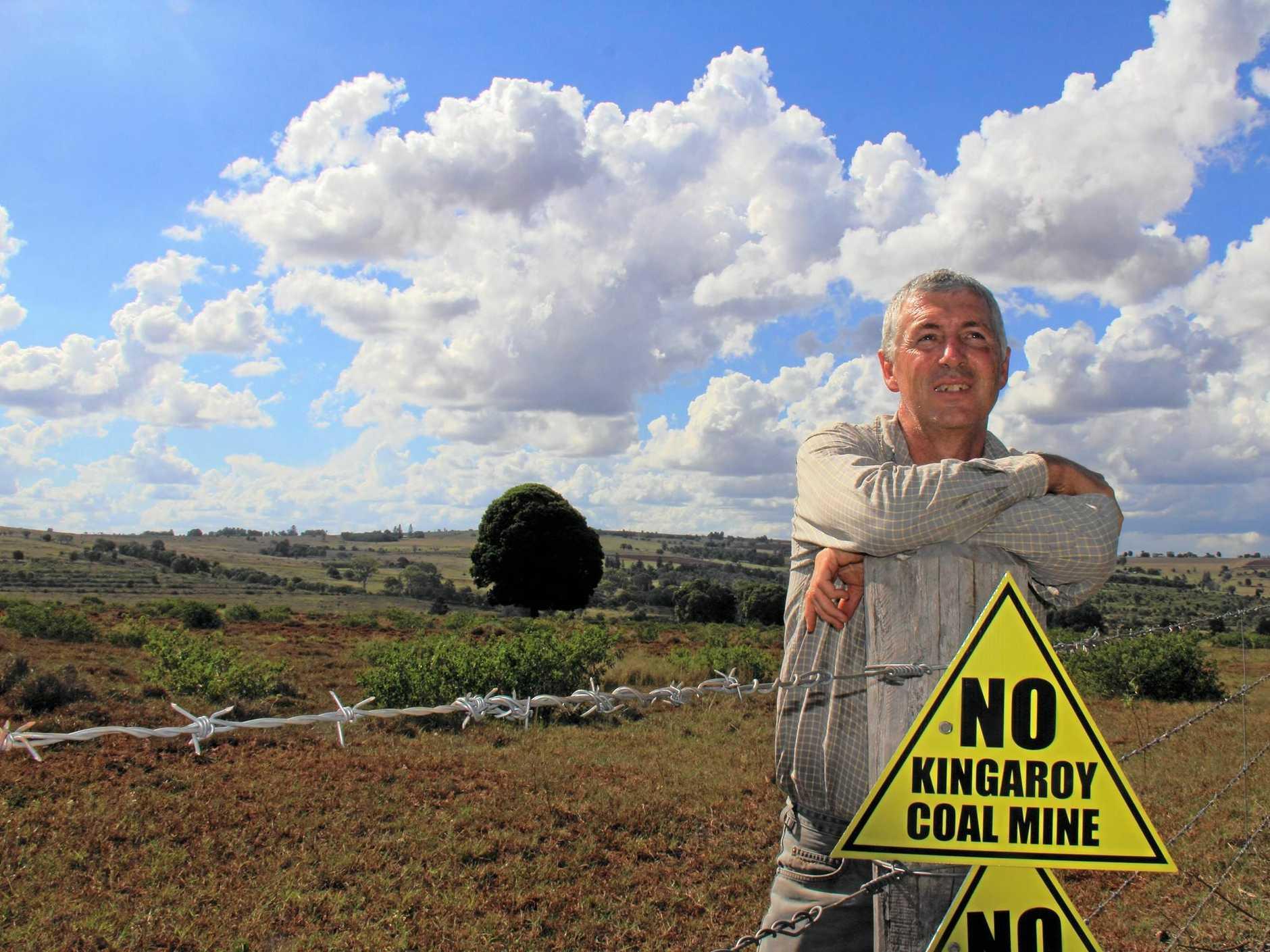 MINING ISSUES: Kingaroy Concerned Citizens Group spokesman John Dalton is hopeful for the future.