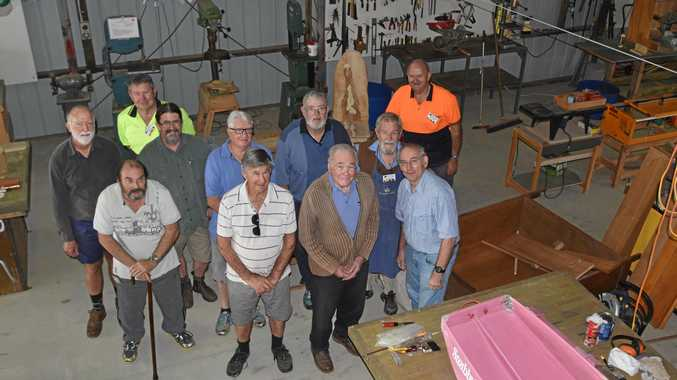 Ballina Community Men's Shed has lodged a development application to build new premises at Racecourse Rd.