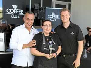 Gladstone barista is on top of the world