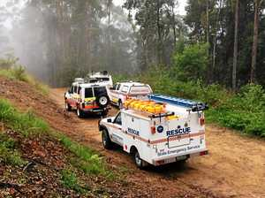 Paramedics and SES praised over difficult rescue