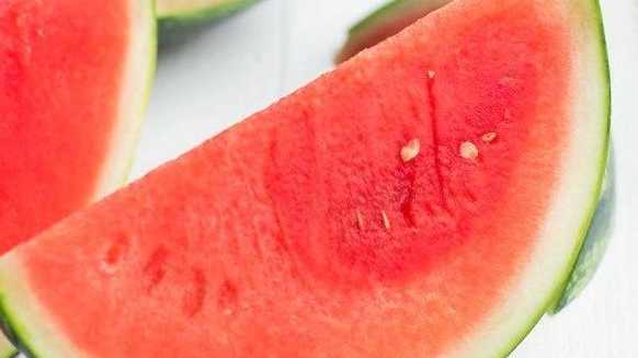 Beautiful refreshing watermelon.