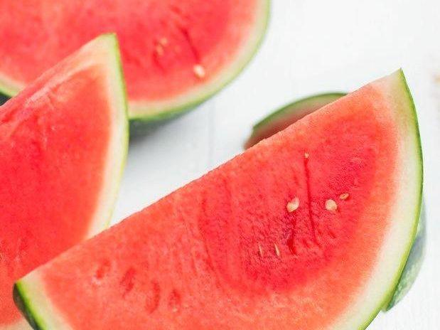Beautiful refreshing watermelon.