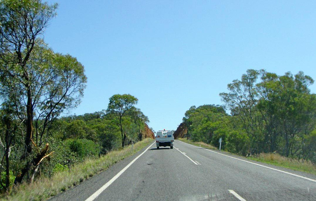 TWO STAR ROAD: The Capricorn Highway has been issued with a dire crash safety rating.