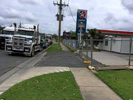 CLOSED: Yaamba Road Caltex Truckstop.