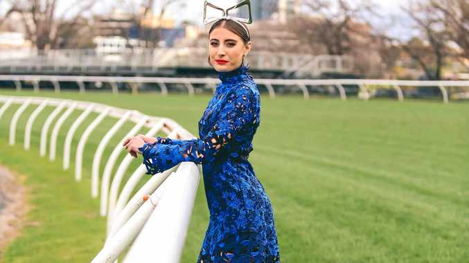 Rebecca Harding is the new face of Myer's Fashions on the Field.