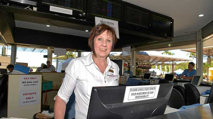 TOP TIP: Michelle Sampson will be taking bets at Corbould Park.